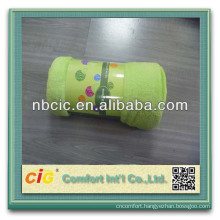 Soft Fleece Solid Color Baby Soft thick Fleece Blanket In Stock