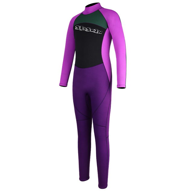 Back Zip for Water Sports wetsuits