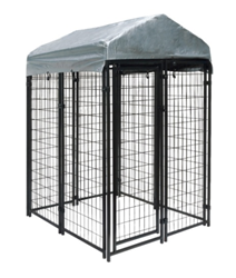 wire dog kennel