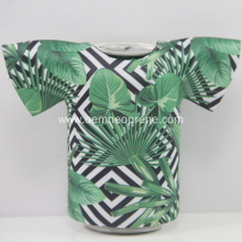World Cup Promotional Gift neoprene T-shirt can cooler