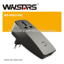 300Mbps wireless Repeater with USB Power,Universal WiFi Extender and travel plug adapter