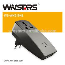 300Mbps wifi Reapter com adaptador de energia, Universal WiFi Extender
