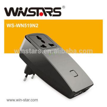 300Mbps drahtloser Repeater mit USB-Energie, Universal WiFi Extender und Spielraum-Steckeradapter
