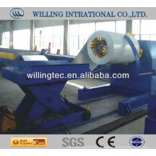 10 Tonne hydraulische Stahl Abwickelmaschine