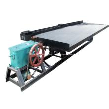 Lavadora de oro aluvial mesa vibratoria para la venta