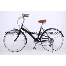 26 pulgadas Variuos Speed ​​Lady Retro City Bike / mujeres holandesas Bike
