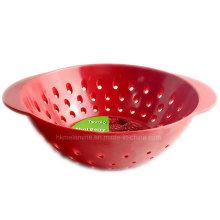 Красный мини-ягодный меламин-дуршлаг