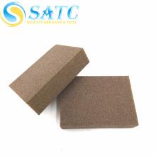 Bloco de lixamento de plástico SATC-EVA e esponja de lixamento de diamante