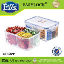 easylock plastic hot food compartment storage box
