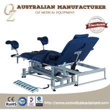 Qualitäts-australischer Standard China-medizinischer Grad-elektrischer Krankenhaus-3 Abschnitt-Gynäkologie-Untersuchungstisch-Hersteller