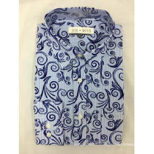 Men's Yarn-Dyed And Printed Shirt