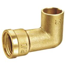 Acoplamiento de latón / Acoplamiento de cobre amarillo de la curva / del latón / Codo de cobre amarillo (A. 0341)