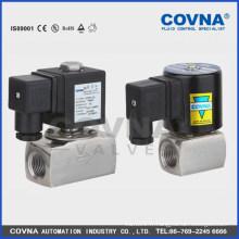 Vanne d'arrêt du solénoïde pour haute température AC220V ou DC24 V