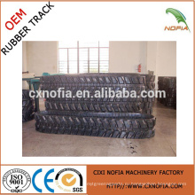 Инженерная резиновая гусеница (400 * 72 * 5Y)