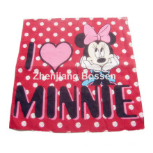 OEM Produce Customized Logo Printed Promotional Cotton Cartoon Bandanna Head Wrap