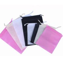 Cheaper Multi-Size Custom LOGO Storage Pouch Drawstring Bag Non-woven Laundry bag