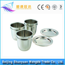 high pure platinum crucibles with lid