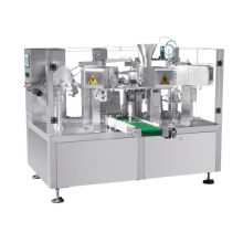 Ротационная упаковочная машина для жидкости и пасты