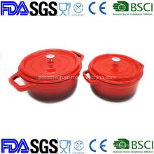 OEM Customized Cast Iron Pot BSCI, LFGB, FDA