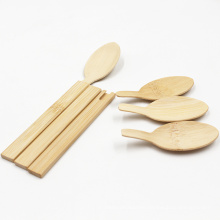 Disposbale New design eco-friendly 170mm bamboo cutlery