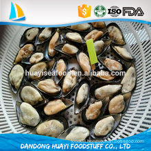 local farm raised seasoned mussel meat with shell