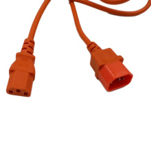 VDE Approval IEC C14 to C13 Computer Power Cord