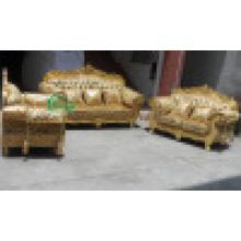 Sofá de tecido clássico para mobília da sala de estar (D929K)