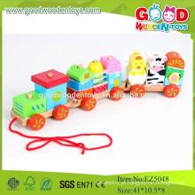 2015 Novo item Conjunto de carros de madeira com venda quente Brinquedos coloridos para crianças