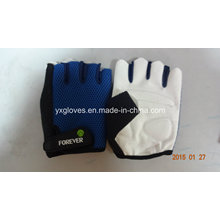 Racing Glove-Safety Glove-Hand Glove-PU Glove-Half Finger Glove