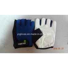 Guante de carreras-guante de seguridad-guante de mano-guante de PU-medio guante de dedo