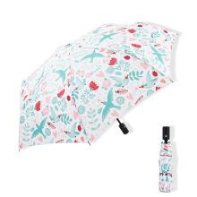 Promotional Three Fold Umbrella with Custom Sombrillas Automatic Paraguas
