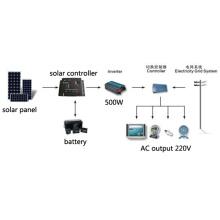 500W de la red solar de la Sistema Solar 100% TUV Estándar