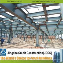 ISO9001: 2008, CE et BV a certifié des entrepôts structuraux en acier préfabriqués