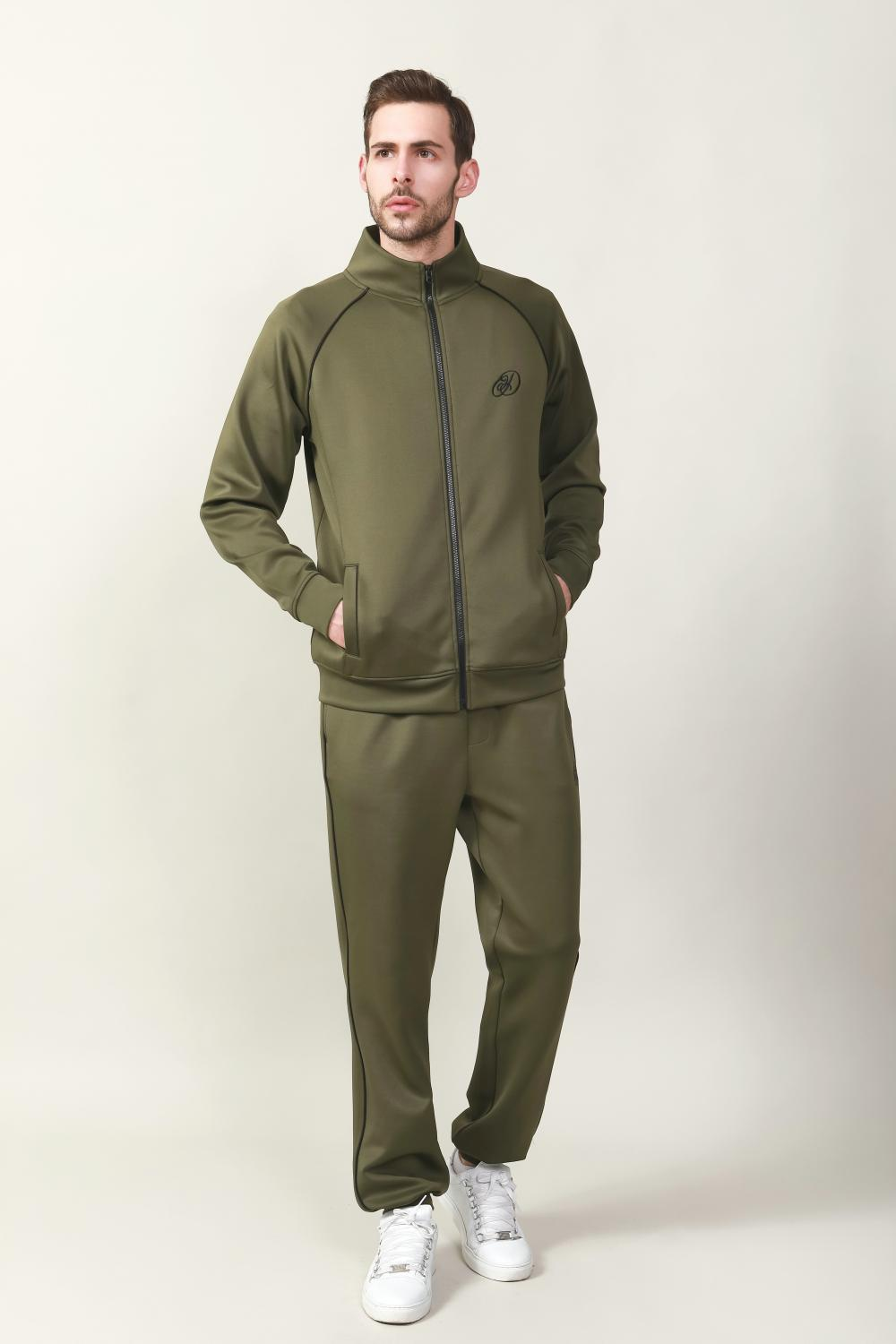 Men's interlock fabric jkt