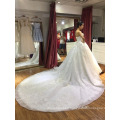 Strapless lace up wedding dress bridal gown 2018 HA640