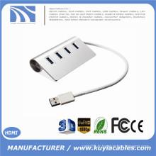 Brand New Super Speed 4 ports USB 3.0 Premium Aluminium Hub pour la tablette PC iMac MacBook