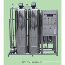 Kommerzielle Wasserfilteranlage mit RO-System 2000L / H Edelstahl / FRP