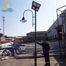 Toughened стеклянным абажуром материала и солнечной питания наружных светодиодных солнечный уличный свет