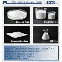 Poudre polymère re-dispersible adhésive
