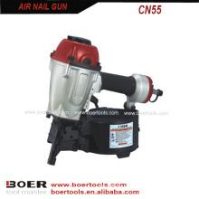 Pistola de pregos em bobina de ar CN55