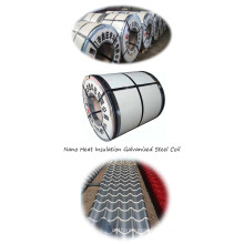 New Tech Heat Insulation Ptrpainted Steel Coil Aluminum Coil Roofing Sheet