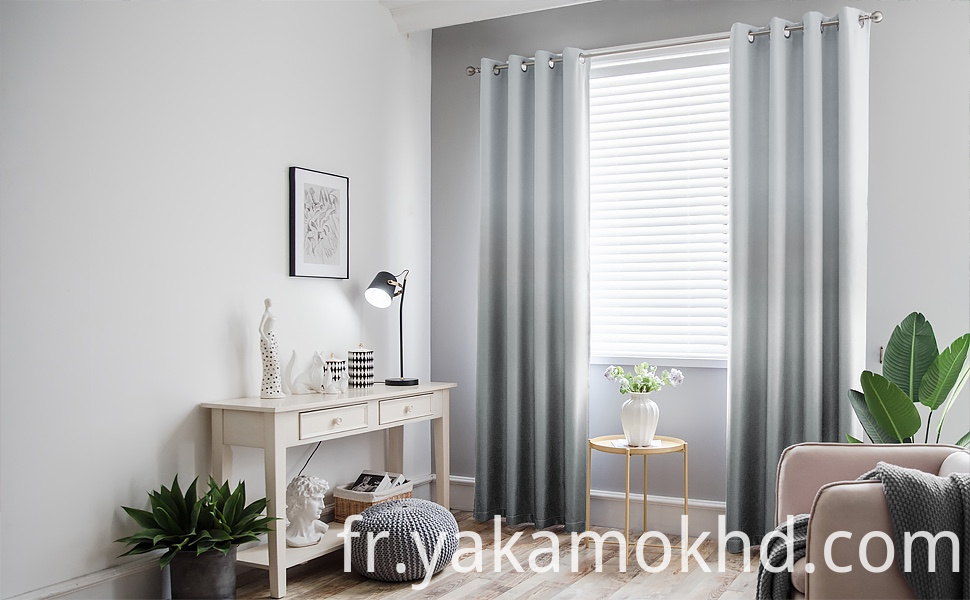 Grey Ombre Curtains