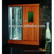 Salle de sauna infrarouge lointain avec douche à vapeur (DS204F3)