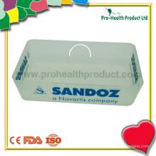 Petit plateau à comprimés en plastique avec pharmacie