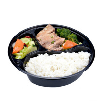 Disposable biodegradable food box takeaway lunch box