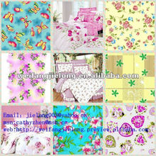 printed 100%cotton fabric for bedding