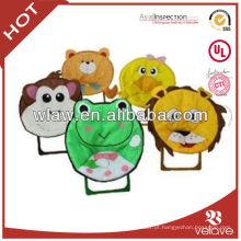 Cadeiras de crianças dos desenhos animados