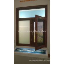 Aluminium and Wood Cladding Windows