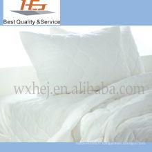 Haute qualité en gros blanc plaine maison coton King Size couette