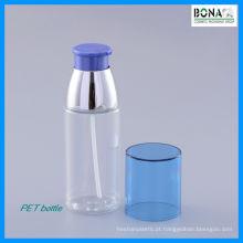 Garrafa cosmética clara da garrafa da loção do animal de estimação 50ml